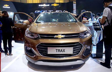 Chi tiet mau SUV do thi Chevrolet Trax 2017 tai Viet Nam - Anh 8