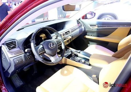 Cham mat Lexus GS Turbo 2016 gia 3,1 ty dong - Anh 11