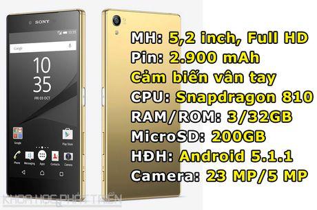 Sony Xperia Z5 giam gia soc - Anh 1