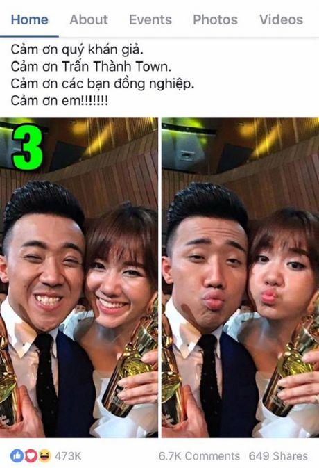 Tran Thanh khoe anh tinh tu voi Hari Won gay bao - Anh 3