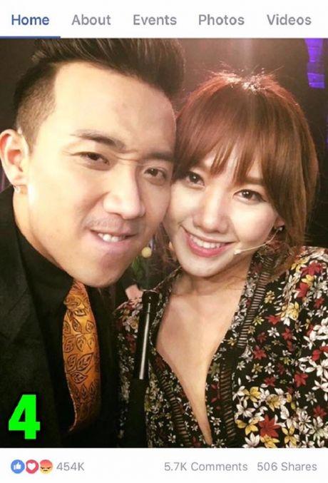 Tran Thanh khoe anh tinh tu voi Hari Won gay bao - Anh 4
