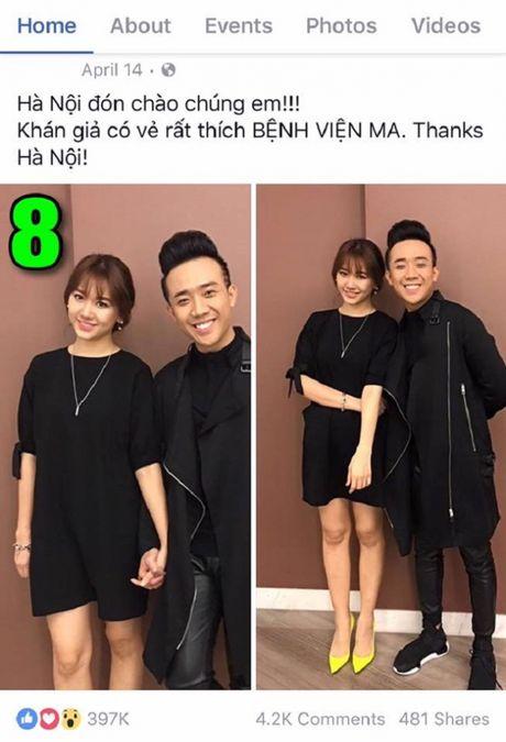 Tran Thanh khoe anh tinh tu voi Hari Won gay bao - Anh 7