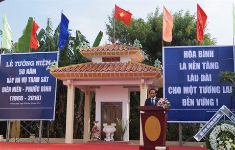 Tuong niem 50 nam ngay xay ra vu tham sat Dien Nien - Phuoc Binh - Anh 1