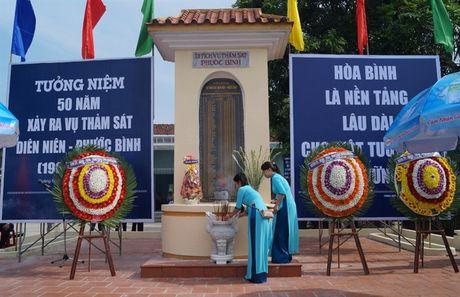 Tuong niem 50 nam ngay xay ra vu tham sat Dien Nien - Phuoc Binh - Anh 2