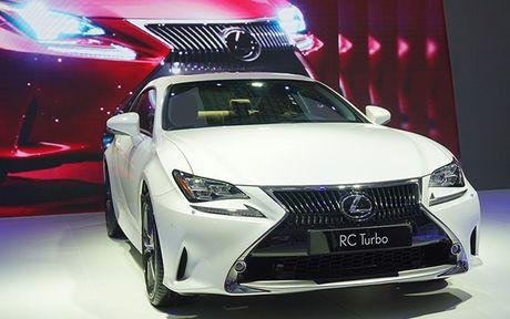 Man nhan voi nhung mau xe moi trinh lang cua Lexus tai VMS 2016 - Anh 8