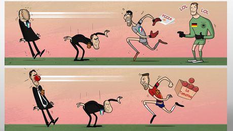 Biem hoa 24h: HLV Italia va Tay Ban Nha 'nga ngua' vi Buffon va Ramos - Anh 3