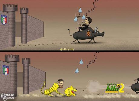 Biem hoa 24h: HLV Italia va Tay Ban Nha 'nga ngua' vi Buffon va Ramos - Anh 4