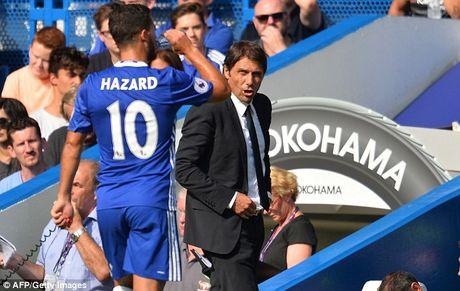 Vi Conte, Chelsea san sang doi Hazard lay trung ve Bonucci - Anh 1