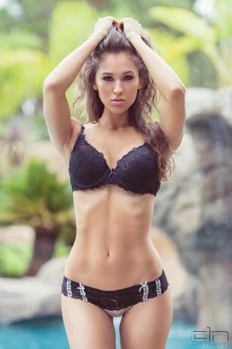 Top 20 nang Ring-girl sexy nhat the gioi (Ki cuoi): Rachel McDonough - Anh 9