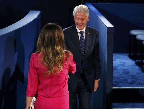Nhung hinh anh cuoc tranh luan lan 2 Hillary Clinton-Donald Trump - Anh 3