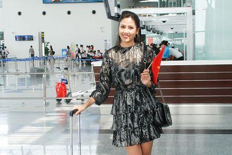 Bo me tien Nguyen Thi Loan sang My thi hoa hau - Anh 1