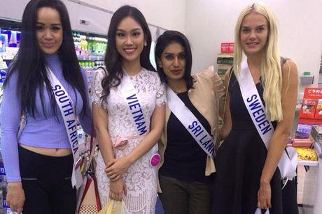 Hinh anh dau tien cua A khoi Phuong Linh tai Miss International - Anh 1