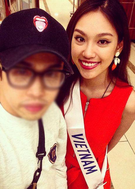 Hinh anh dau tien cua A khoi Phuong Linh tai Miss International - Anh 4