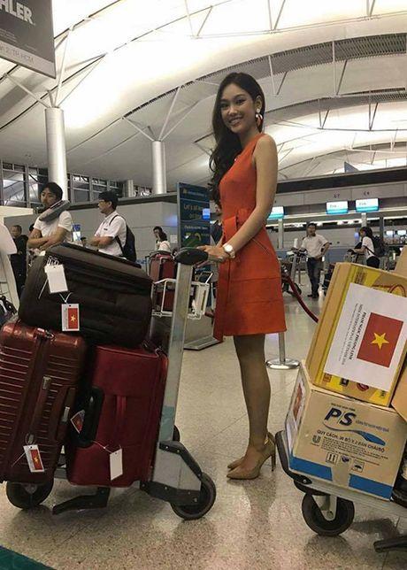Hinh anh dau tien cua A khoi Phuong Linh tai Miss International - Anh 5