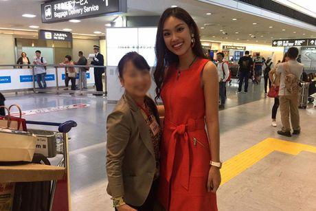 Hinh anh dau tien cua A khoi Phuong Linh tai Miss International - Anh 7