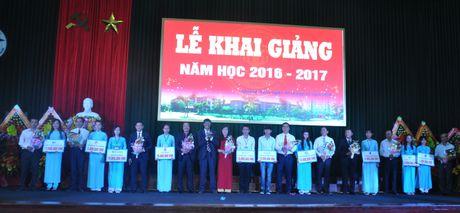 Truong DH Quang Nam khai giang nam hoc moi - Anh 1