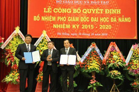 Bo nhiem lai chuc vu Pho Giam doc DH Da Nang nhiem ky 2015 – 2020 - Anh 1