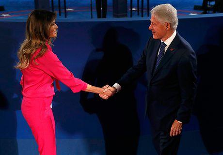 Tranh luan truc tiep lan hai day gay can giua Trump va Clinton - Anh 7