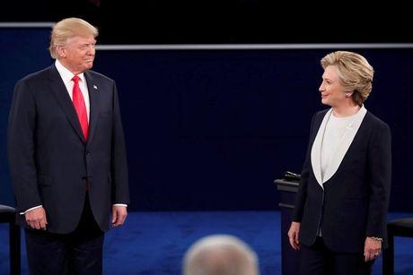 Tranh luan truc tiep lan hai day gay can giua Trump va Clinton - Anh 5