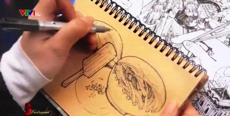 Ngam Ha Noi qua lang kinh Doodle - Anh 1