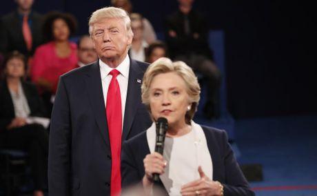 Cai ket bat ngo cua cuoc 'so gang' lan hai giua Clinton va Trump - Anh 1