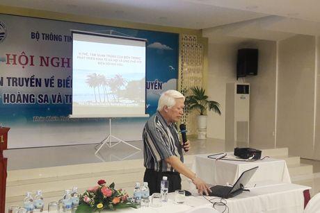 Nguyen tac giai quyet van de tren bien giua Viet Nam – Trung Quoc - Anh 1