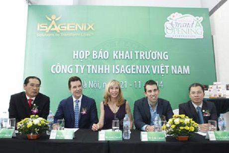 Cong ty da cap Isagenix Viet Nam ngung hoat dong tren toan quoc - Anh 1