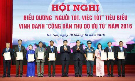 Ha Noi vinh danh 9 cong dan Thu do uu tu - Anh 1