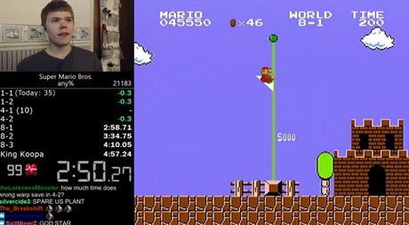 "Xem ""pha dao"" Super Mario duoi 5 phut - Anh 1"