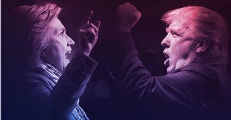 6 'chao lua' trong phien tranh luan giua ong Trump va ba Hillary - Anh 1