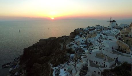 Lang nguoi truoc ve dep tuyet my cua Santorini - Anh 4