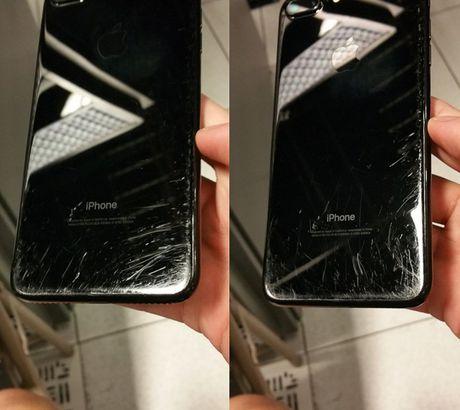 Nguoi dung che iPhone 7 Jet Black de roi va xuoc - Anh 3