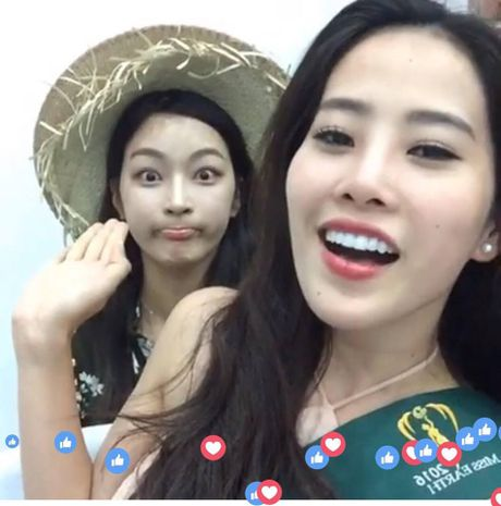 Nam Em xinh dep rang ngoi live stream voi khan gia Viet tai Philippines - Anh 4