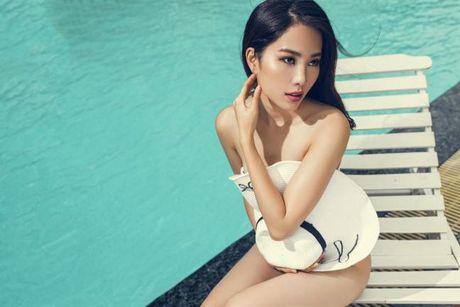 Nam Em dien bikini khoe body nong bong truoc them Hoa hau Trai Dat 2016 - Anh 3