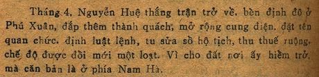 Lang mo Hoang de Quang Trung va bi mat lich su chua loi giai (ky 1) - Anh 5
