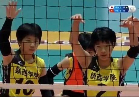 Giai bong chuyen nu Quoc te VTV: Viet Nam thang dam tuyen Nagasaki - Anh 2