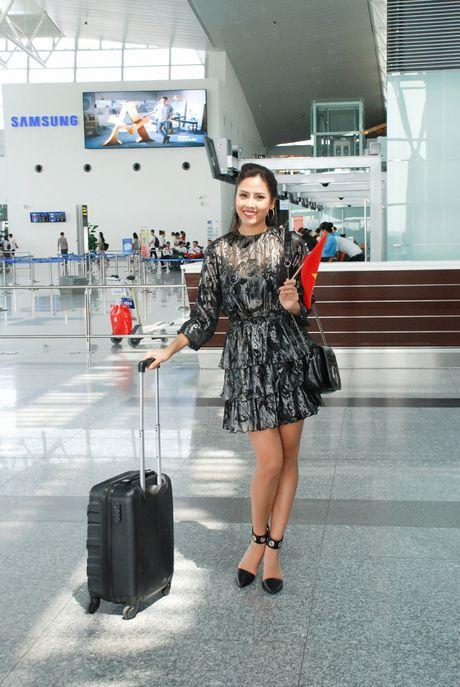 Nguyen Thi Loan, Phuong Linh di thi sac dep quoc te - Anh 3