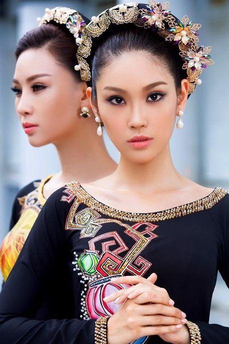 Nguyen Thi Loan, Phuong Linh di thi sac dep quoc te - Anh 7