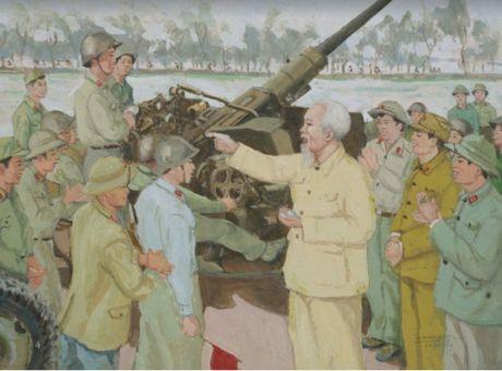 Chan dung Bac Ho qua tranh Van Giao - Anh 1