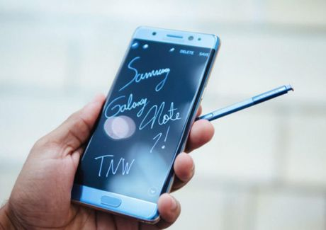 Bao Han Quoc: Samsung tam dung san xuat Galaxy Note 7 - Anh 1