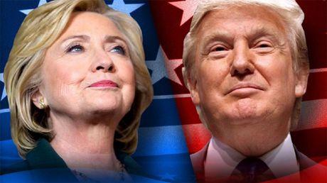 Video truc tiep tranh luan Donald Trump - Hillary Clinton - Anh 1