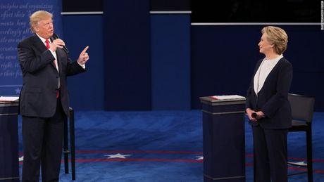 Toan canh cuoc tranh luan kich tinh giua Donald Trump - Hillary Clinton - Anh 5