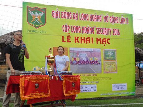 Tap doan Bao ve Long Hoang khai mac giai bong da Long Hoang mo rong lan 2 - Anh 2