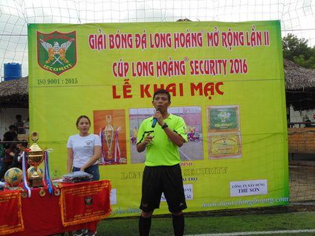 Tap doan Bao ve Long Hoang khai mac giai bong da Long Hoang mo rong lan 2 - Anh 4