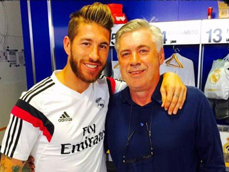 Ancelotti khen Ramos toan nang hon ca Canavaro va Baresi - Anh 1