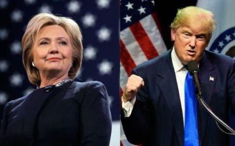 Cuoc tranh luan Trump-Clinton lan 2: Gay gat va kho luong? - Anh 1