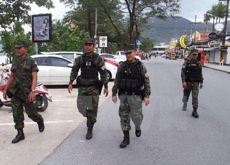Thai Lan siet chat an ninh sau canh bao danh bom o Bangkok - Anh 1
