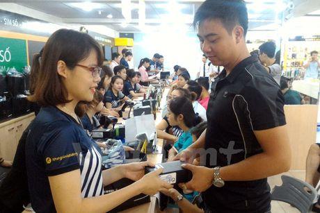 Chua co quyet dinh ngung ban, thu hoi Galaxy Note 7 o Viet Nam - Anh 1