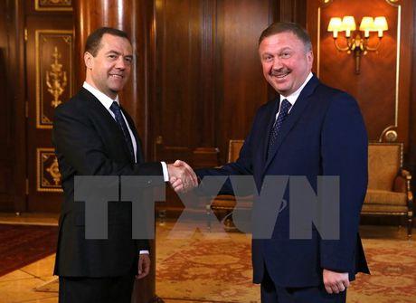 Nga va Belarus tim giai phap cho nhung bat dong ve gia khi dot - Anh 1