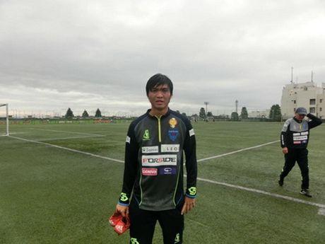 Tuan Anh, Cong Phuong hao huc cho 'derby Viet Nam' tai J.League 2 - Anh 1